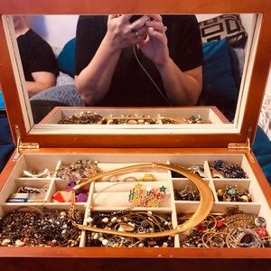 Jewelry Box with everything in it.